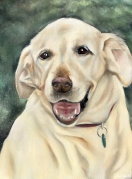 """""""Abby"""" 2018 - Oil on 12x16 canvas board"""