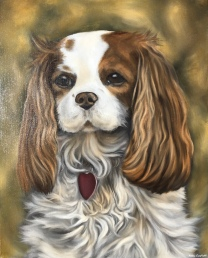 """Maggie"" 2018 - Oil on 16x20 canvas board"
