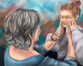 """Dementia"" 2018 - Oil on 16x20 canvas"
